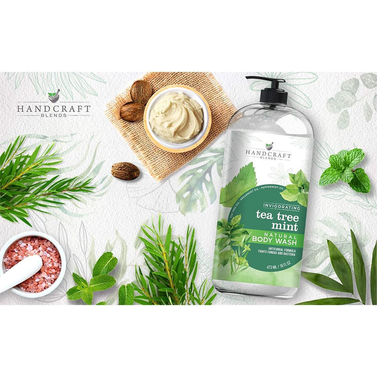 Tea Tree Mint Body Wash 16 oz
