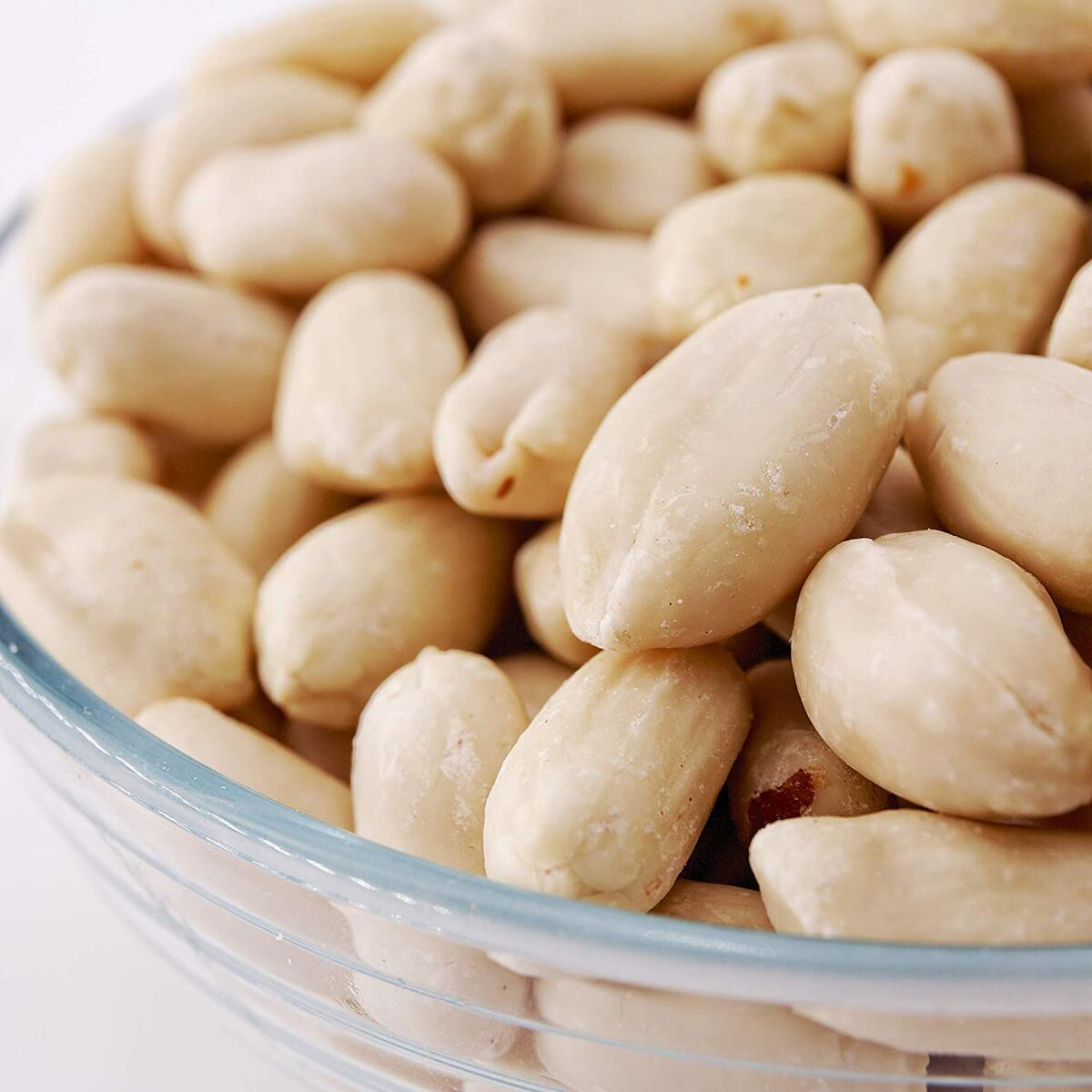 Sky   Premium USA Grown, Unsalted, Raw, Virginia Blanched Peanuts, Great for Peanut Butter, Peanut Brittle, Keto, Paleo, Better than Planters!