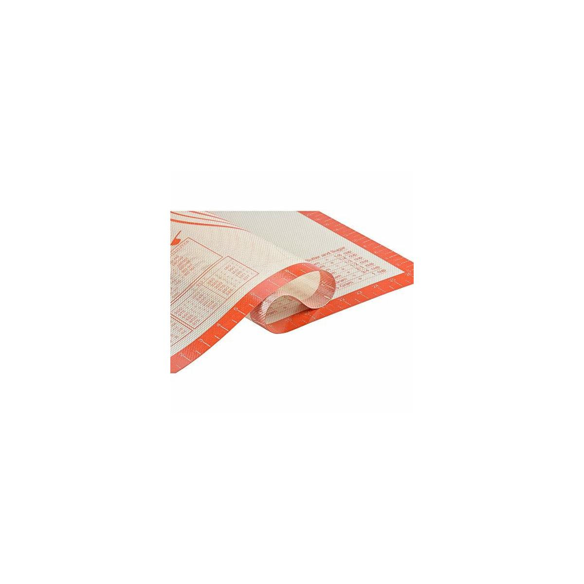Pastry Mat for Rolling Dough Non Slip - Non-stick Silicone Baking Mat XLarge - Pastry Sheet for Rolling Out Dough - Dough Mat for Bread Pie Crust/Cookie Rolling Fondant Mat 28
