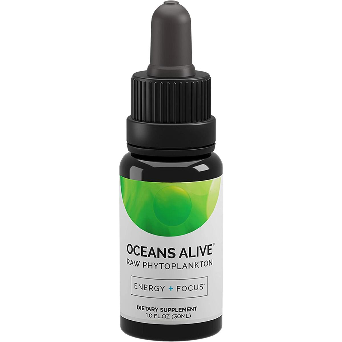 Activation Products Oceans Alive Marine Phytoplankton - Pure Phytoplankton Supplement Boosts Mind and Energy - Ultimate Contaminant Free Superfood, 30ml