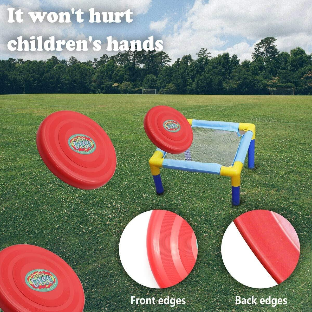 Exciting Frisbee Disc Golf Set for Kids – Plastic Flying Disc Set for Outdoors, Beach, Backyard Sports Play Discs – Kids Frisbee Golf Discs for Boys, Girls, Children & Family Fun!