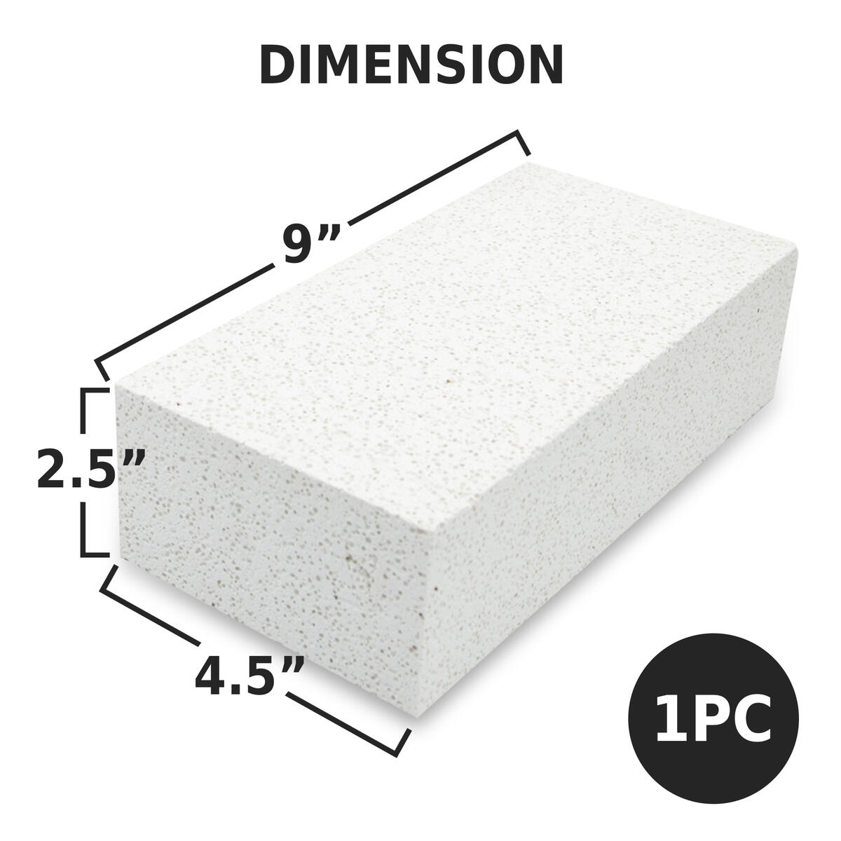 [Premium] Insulating Fire Brick for Forge, Soft Insulated Fire Brick for Pizza Oven, Kilns, 2700F Fireplace Bricks, Fire Pit Accessories for Heater, Metal Clay, Jewelry Soldering 9