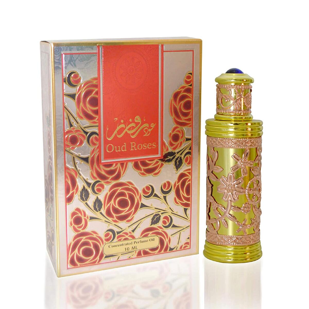 My Perfumes Oud Rose Concentrated Perfume Oil for Men & Women - 10ml
