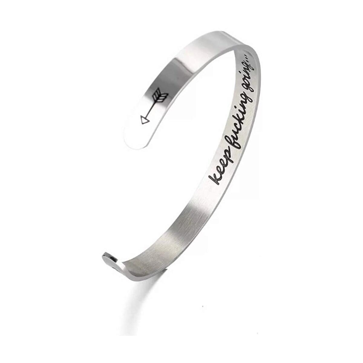 Inspirational Bracelets for Women - Best Friend Bracelets - Thinking Of You Gift - BFF Gifts - Cuff Bracelets For Women - Encouragement Gifts For Women - You Got This - Engraved Bracelets For Women