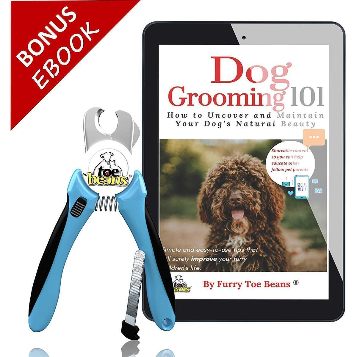Dog and Cats Nail Clippers | FREE SHiPPiNG ! | FREE Dog Grooming Ebook | FREE Storage Cottong Bag