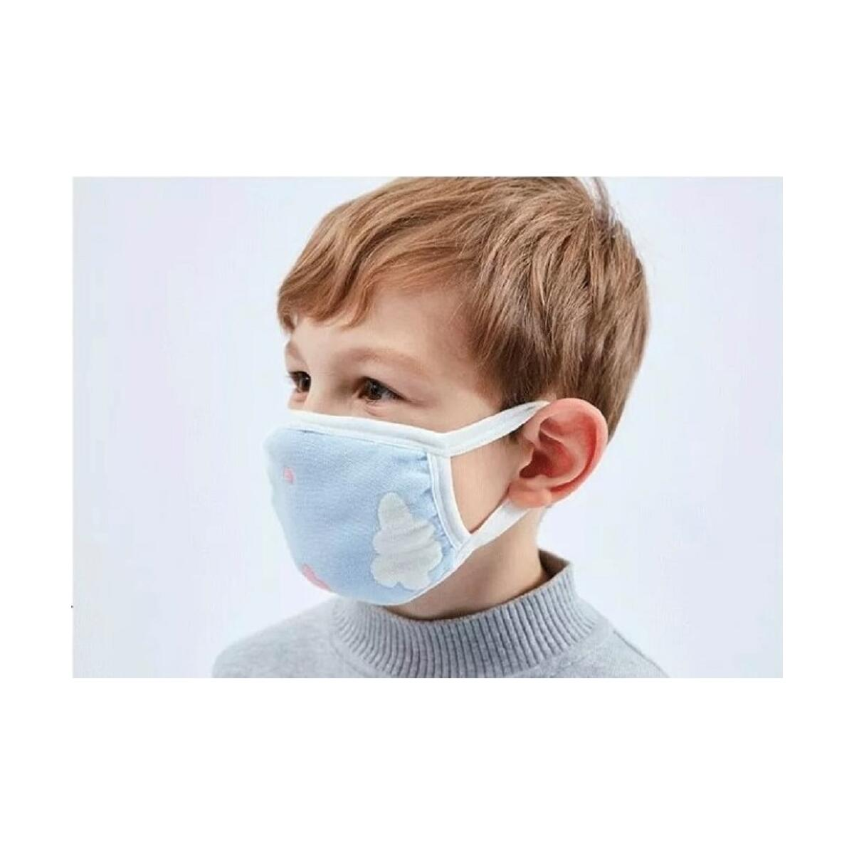 Kids Face Mask 6 Layers Gauze Mask (Washable-Reusable-Breathable- Fashionable) Pack of 3