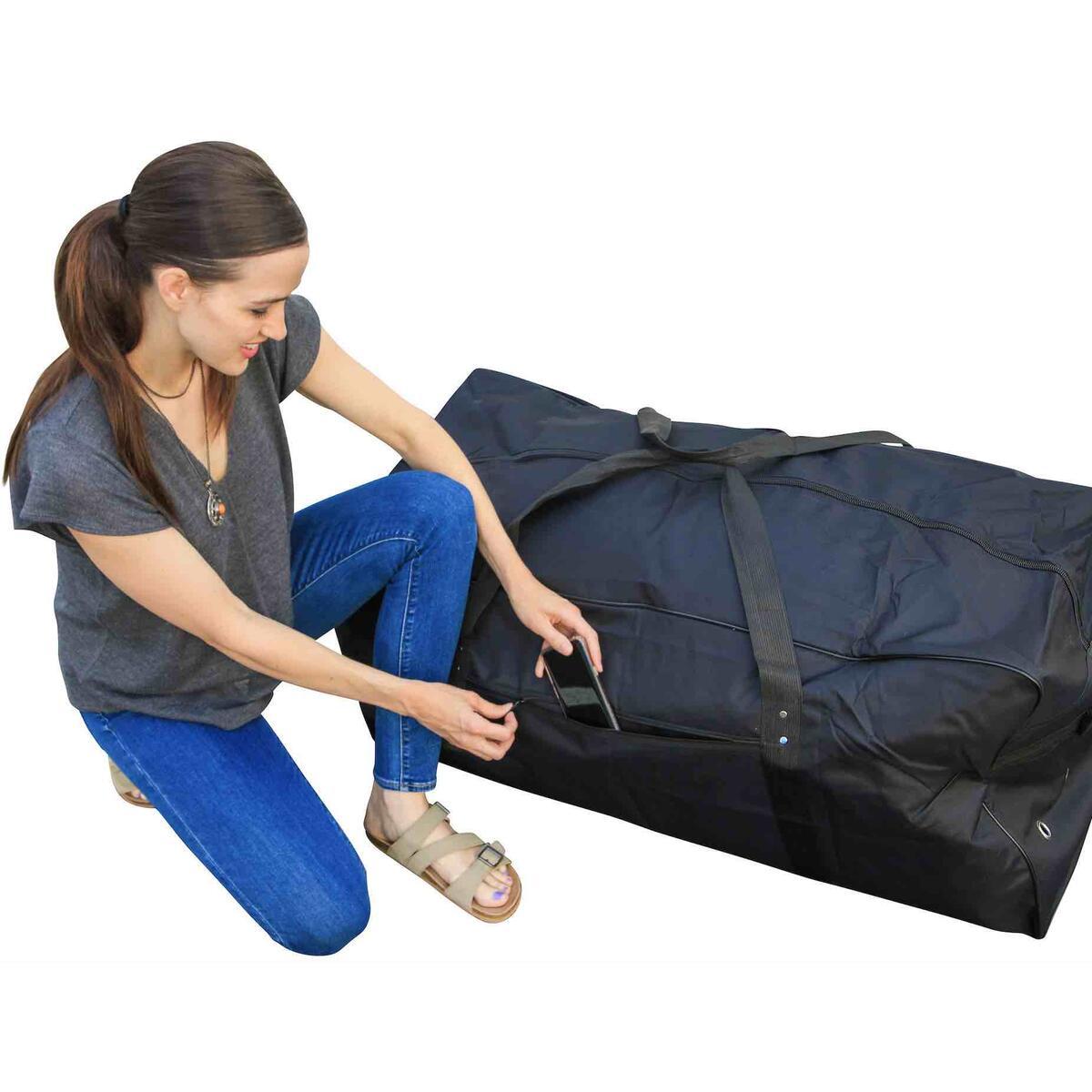 Sports Bag Boat Huge Storage Duffle Bag XL Duffle Bag Luggage Bag Gothamite 50-inch Oversized Duffle Bag Heavy Duty Camping Bag