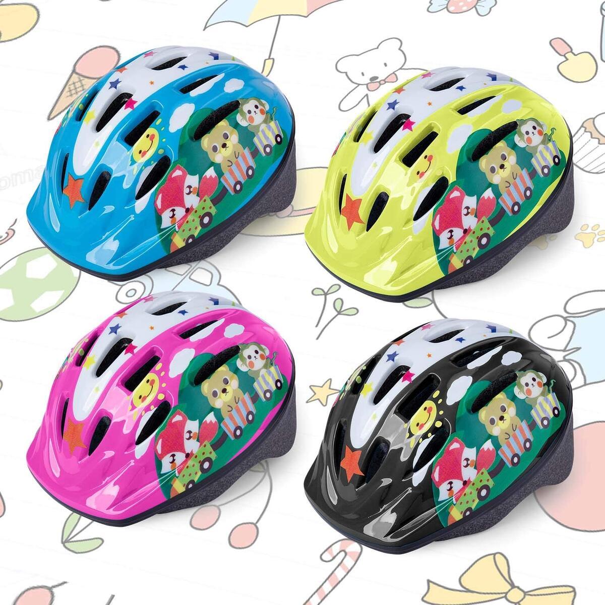Toddler Bike Helmet, CPSC Certified Multi-Sport Adjustable Helmet for Kids Boys and Girls Age 3-5 [Choose any color]