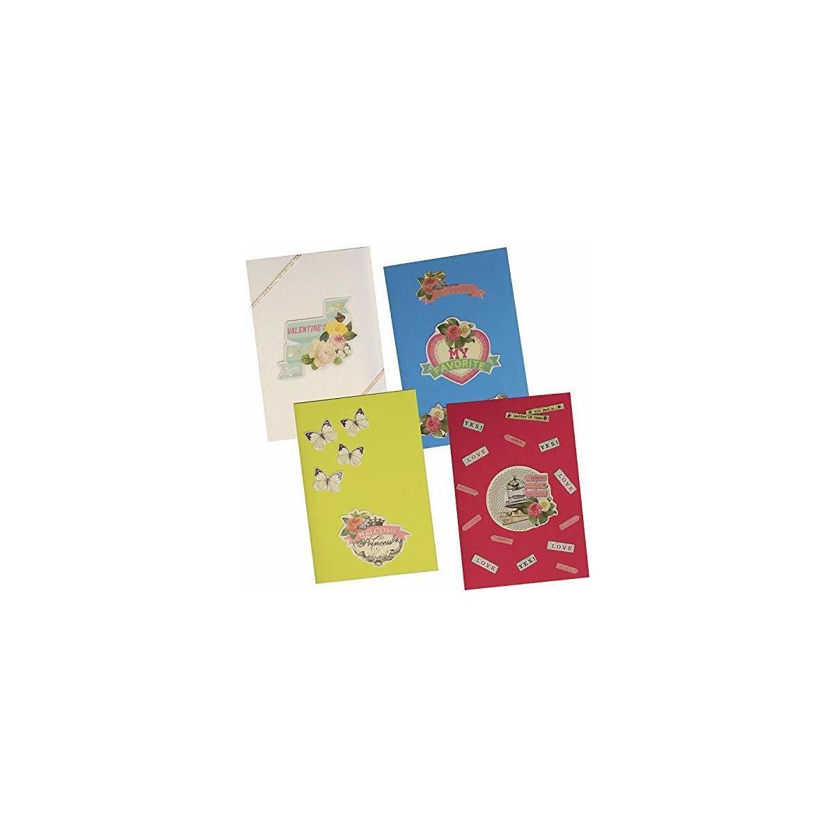 greeting card making kit pack  diy handmade greeting card