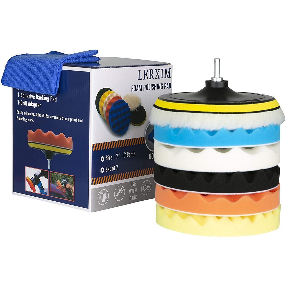 LERXIM Polishing Pad - Buffing Pads kit