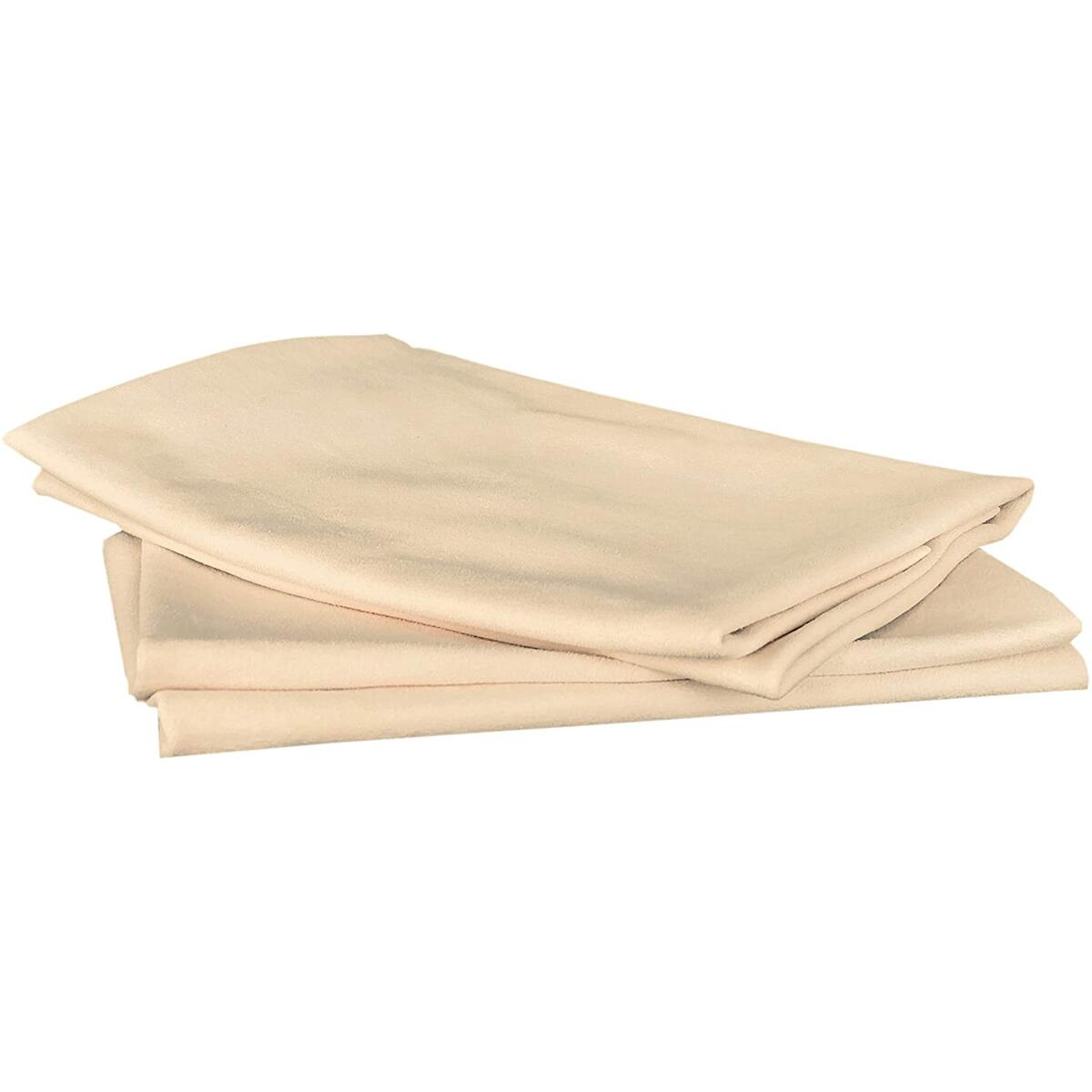 Sheepskin Elite Chamois Drying Cloth Car Drying Towel Real Leather Super Absorbent Fast Drying Natural Chamois Car Wash Cloth Accessory (4 SQ FT in Total)