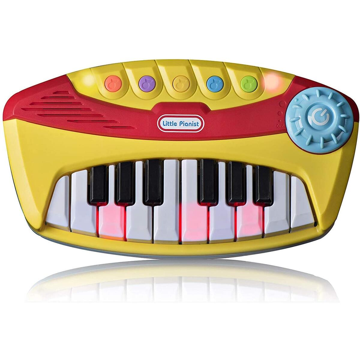 Electronic Organ Music Keyboard for little kids - My First Piano - With Lights and Music, for children ages 18 Months+