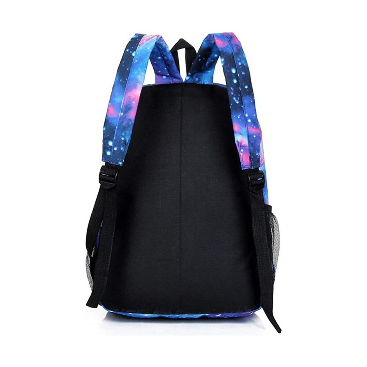 15 Inch Backpack for Boys and Girls Unicorn School Bag for Kids Galaxy Daypack