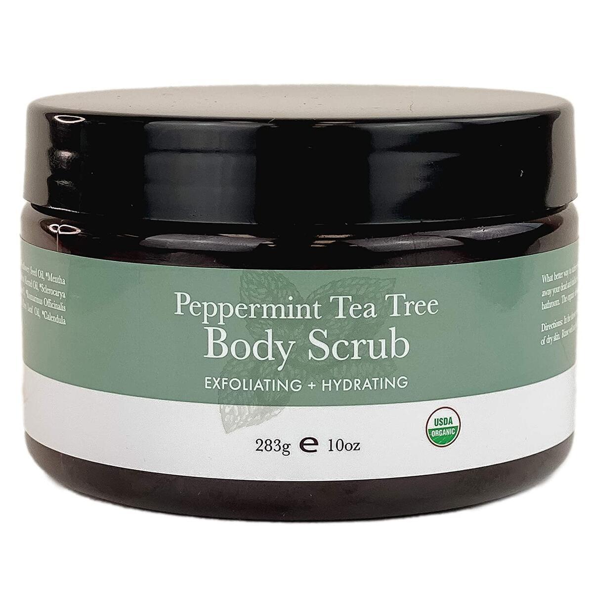 Peppermint Tea Tree Body Scrub