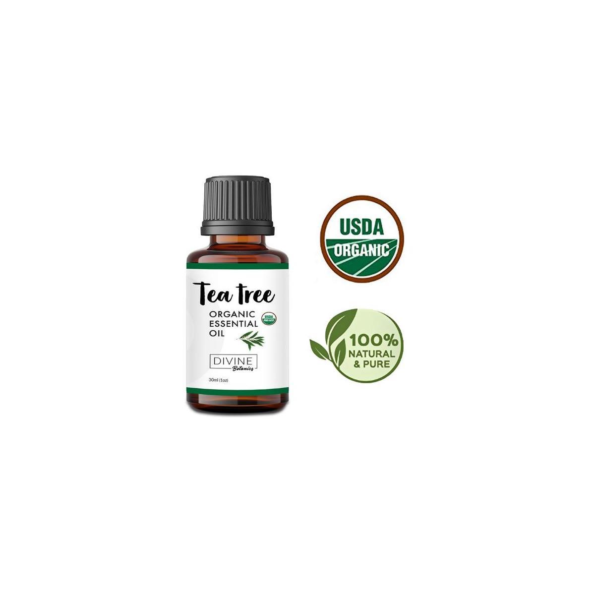 USDA Organic Tea Tree Essential Oil