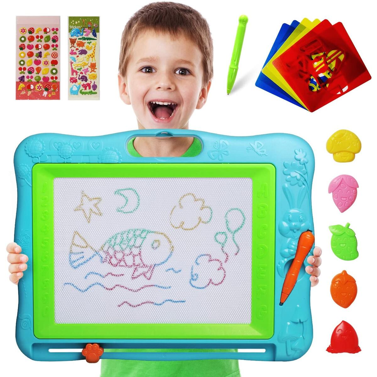 Large Magnetic Drawing Board (Blue)