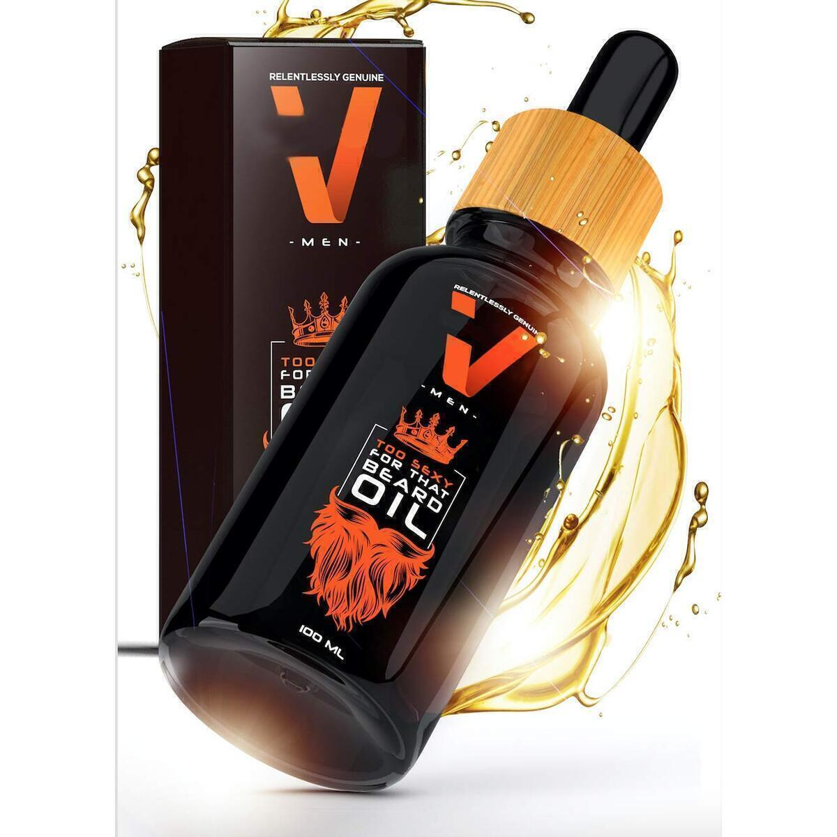 Organic Beard & Conditioning Oil for Men - Great Gift