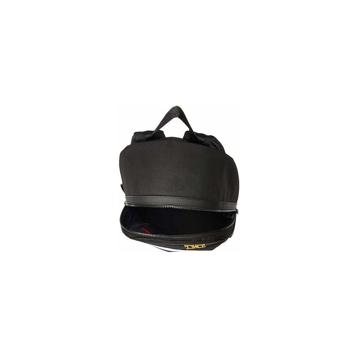 Tommy Hilfiger Men's Back Bay Backpack, Black, OS