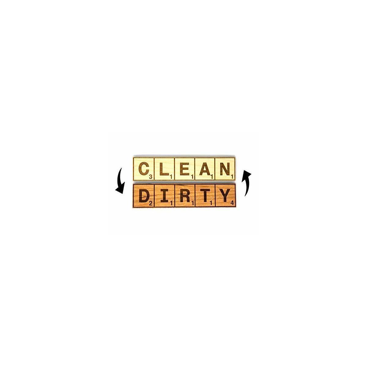 Reversible Scrabble Dishwasher Magnet