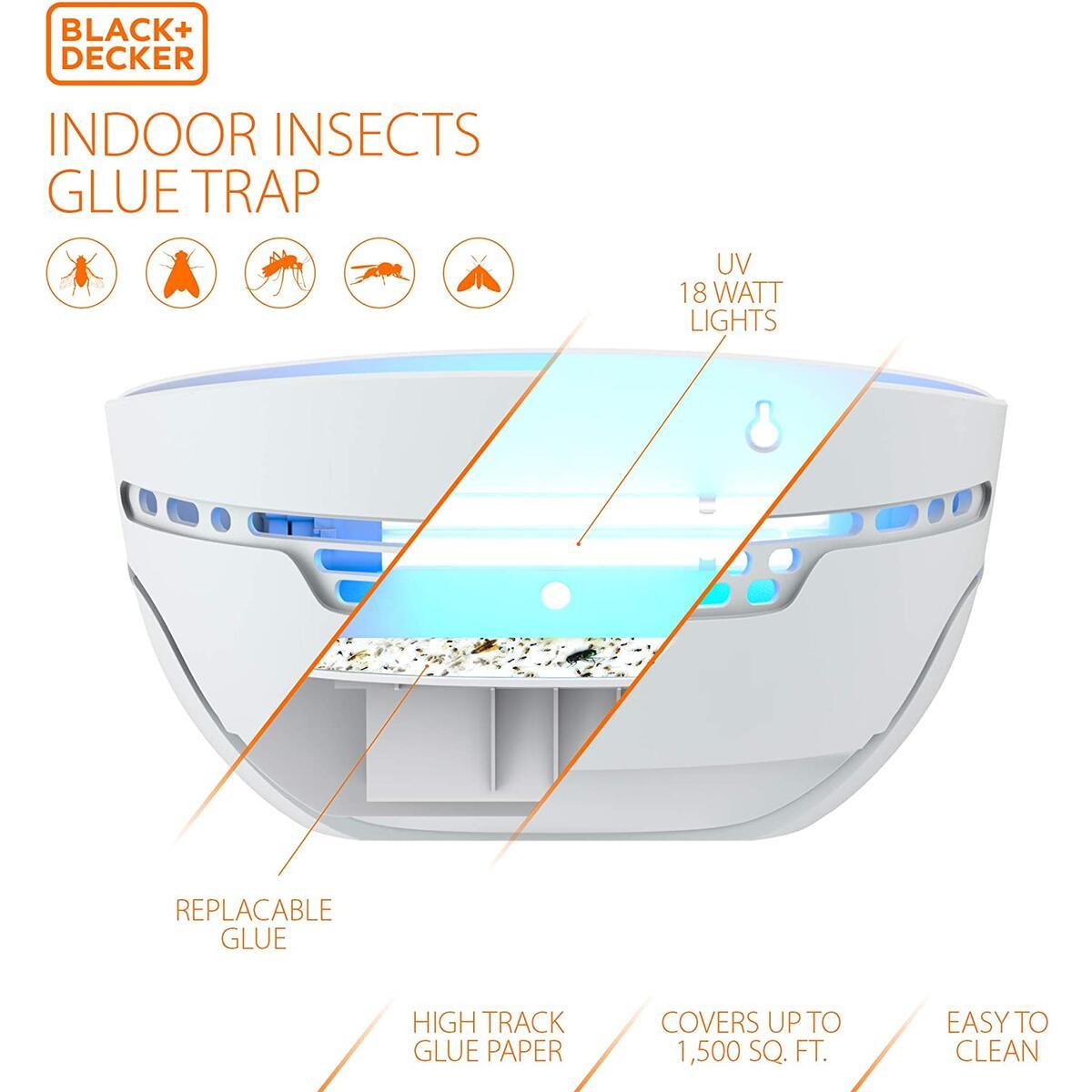 BLACK+DECKER Fly & Bug Glue Trap