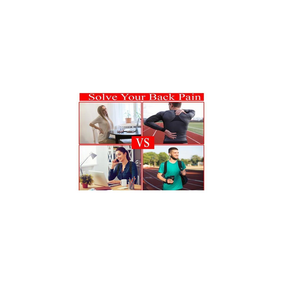 Posture Corrector for Women and Men–Free Wrist Wrap-Shoulder and Neck Pain Relief-Adjustable Comfortable Posture Back Brace -Orthopedic Upper Back-Clavicle Support Brace Posture Belt Strap