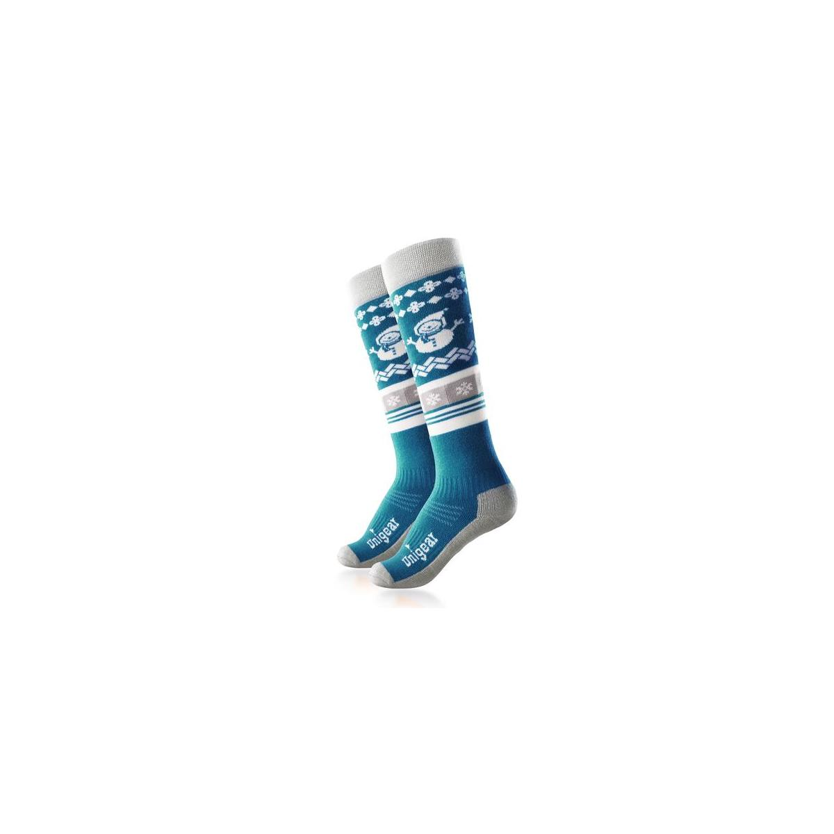 Kids Ski Socks, Merino Wool Warm and Soft Winter Socks, Over The Calf(All Sizes and Colors Are Available)