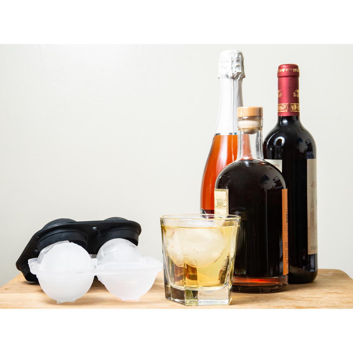 Ice Tray - HUGE Ice Spheres - 4 Balls