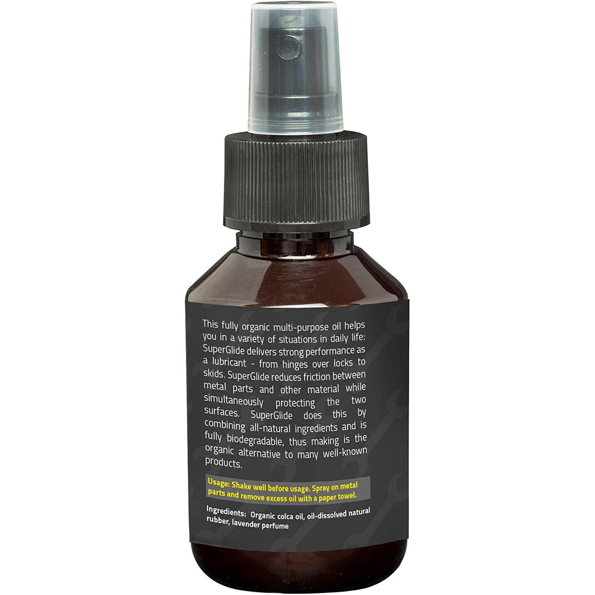Organic Multipurpose oil  | Lube for car, motorbike, bicycle | Chain Lube | Mountain Bike Chain Lube | Chain Lubricant | 100 ml | Car rust treatment spray | Made out of natural and eco friendly ingredients
