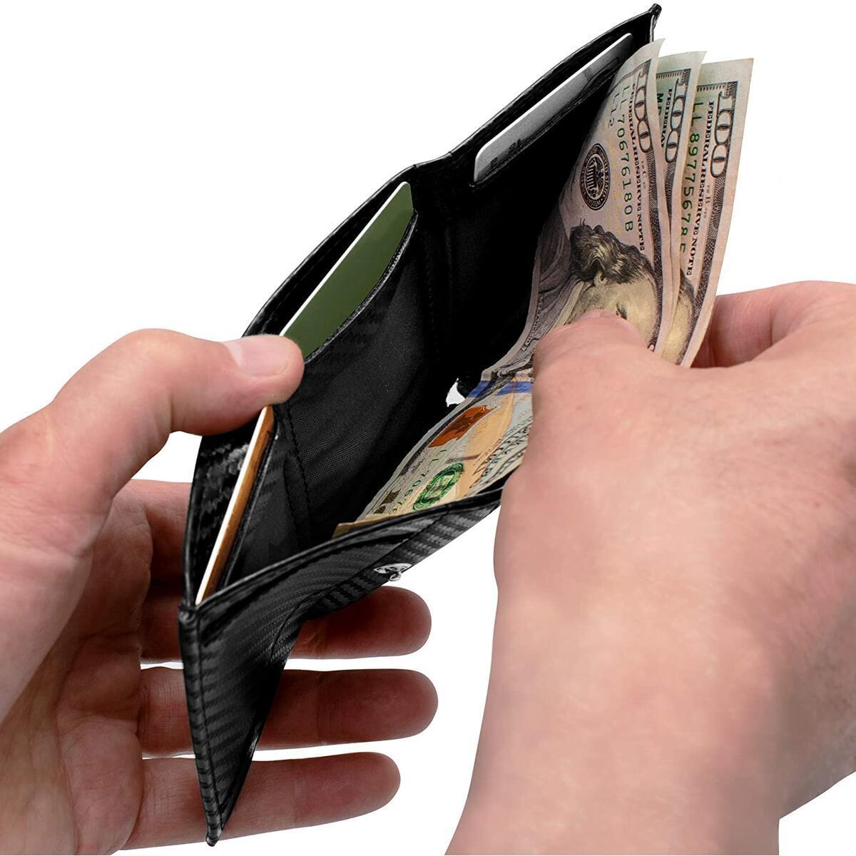 GenTo SMARTLET - Slim and Smart Wallet - RFID blocking - Minimalist front Pocket SW 103