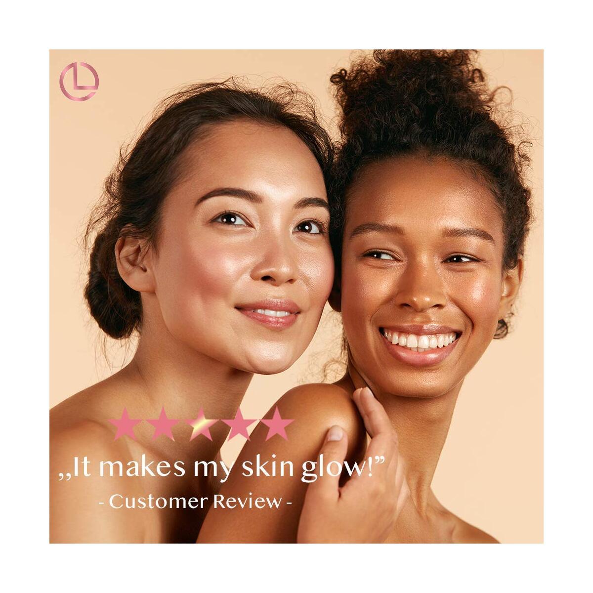 Face Cream with Vitamin C Serum Skin Care Hyaluronic Acid Natural Moisturizer Organic Facial Dark Spot Remover Night Cream Pore Minimizer Brightening Anti Aging Lotion Corrector Scar Removal