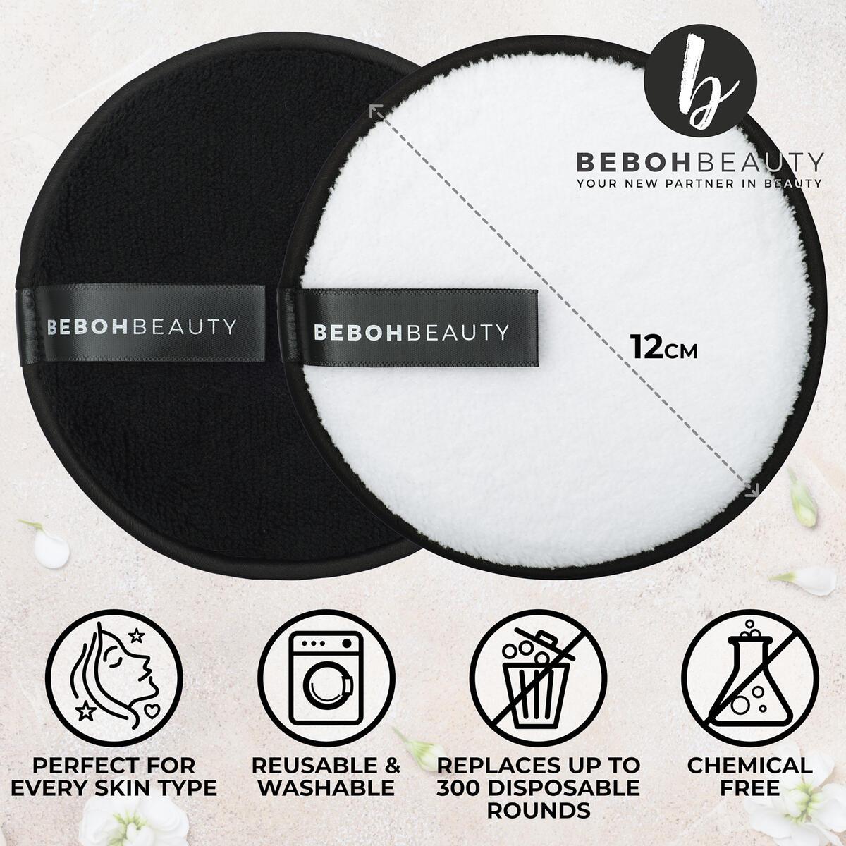 Microfiber Reusable Makeup Remover Pads