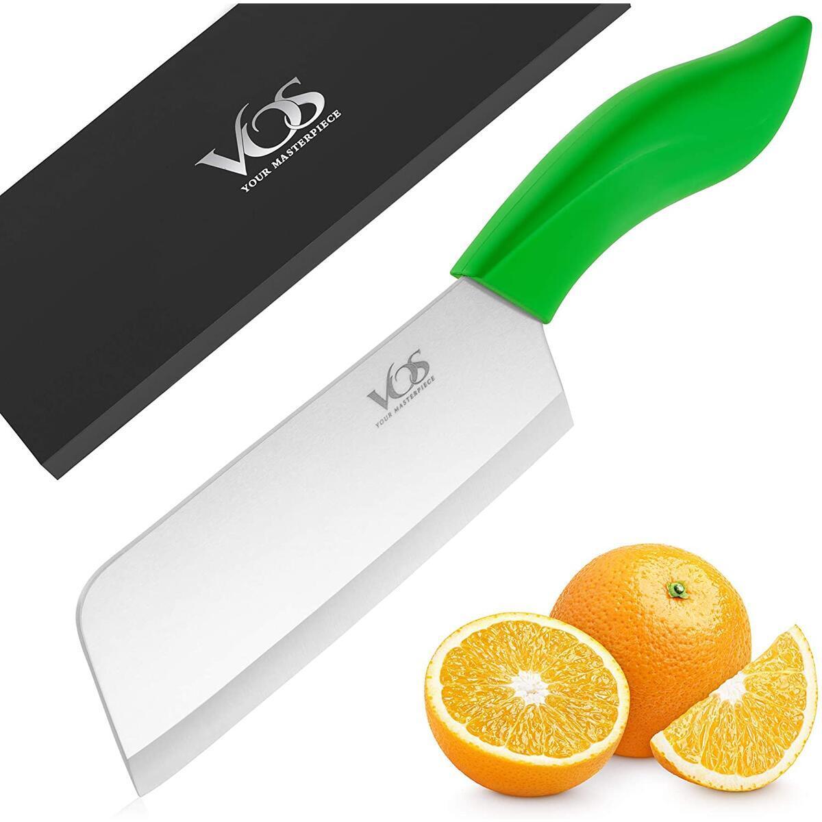Vos Ceramic Knife 6.5 Inch Ceramic Cleaver