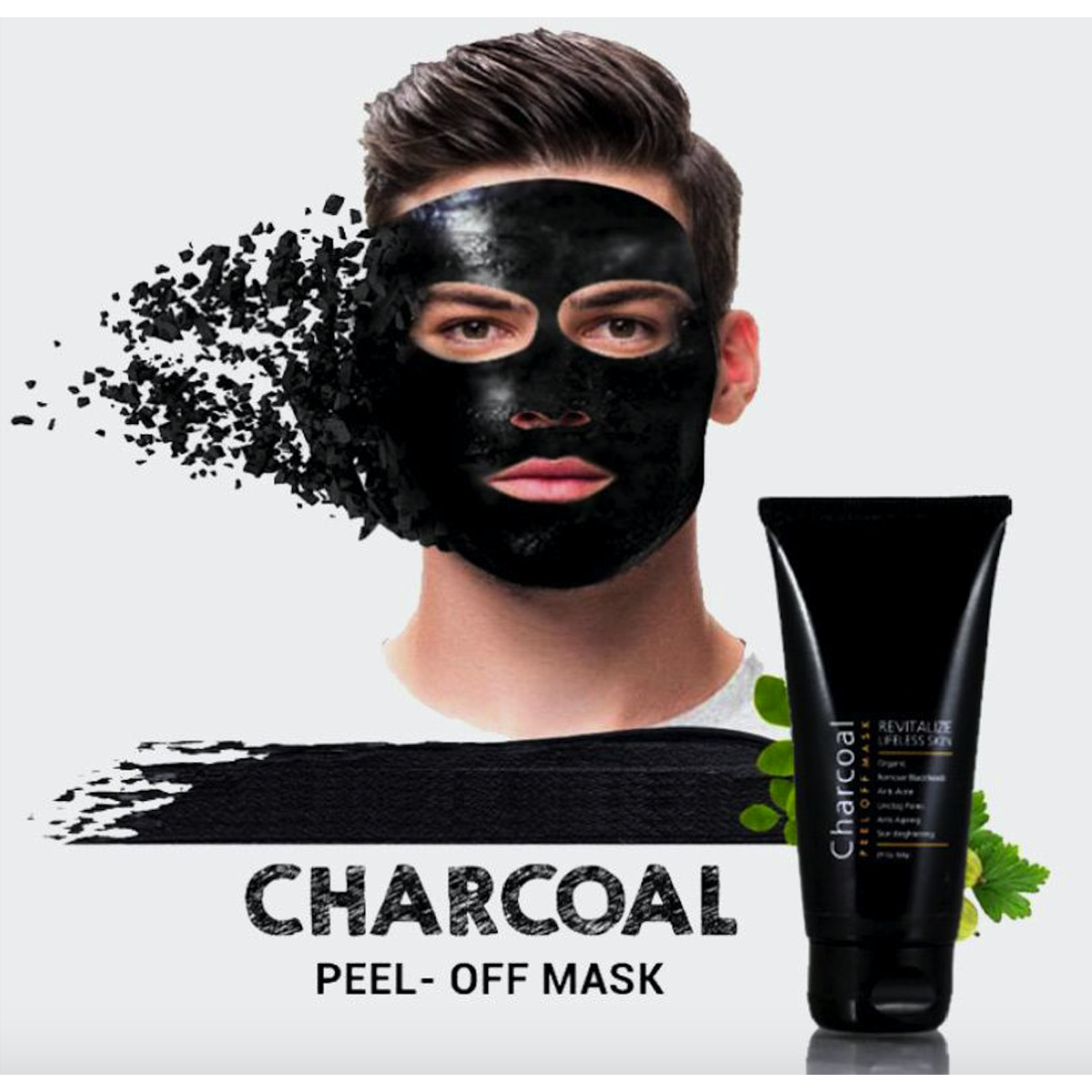 Pore Cleansing Face Mask for Men and Women - Natural Ingredients