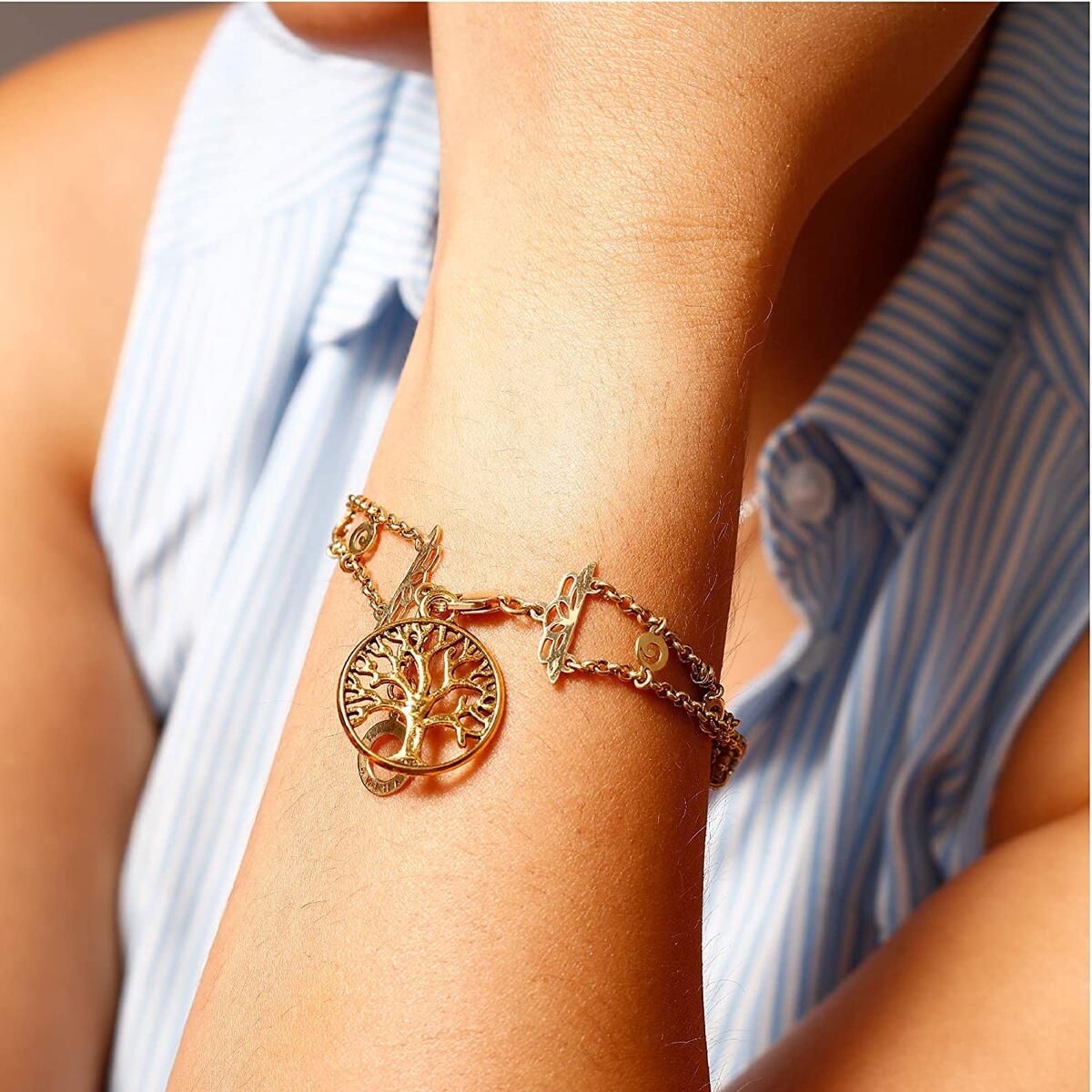 Incraftables Gold Charms 100pcs PLUS 15pcs Clasps & Rings. Best Antique Metal Pendants for DIY Bracelet, Keychain, Necklace & Jewelry Making.