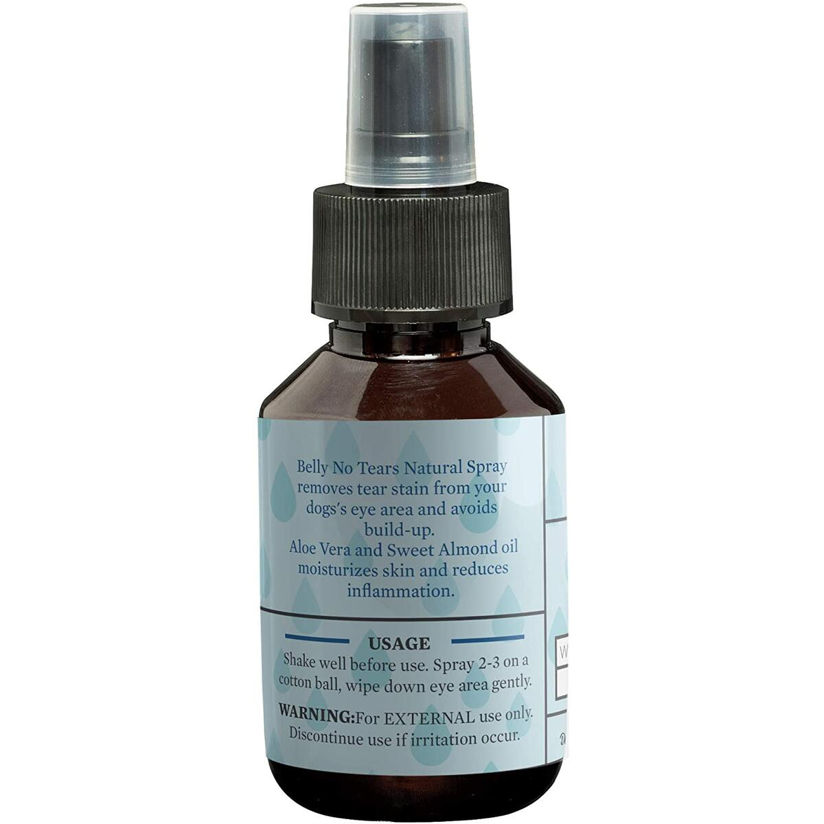 Tear Stain Remover for Dogs I 100% Natural I Removes Dog Tear Stains with Aloe Vera and Sweet Almond Oil I Moisturizes and Soothes Skin I Made with Natural Ingredients and No Chemicals