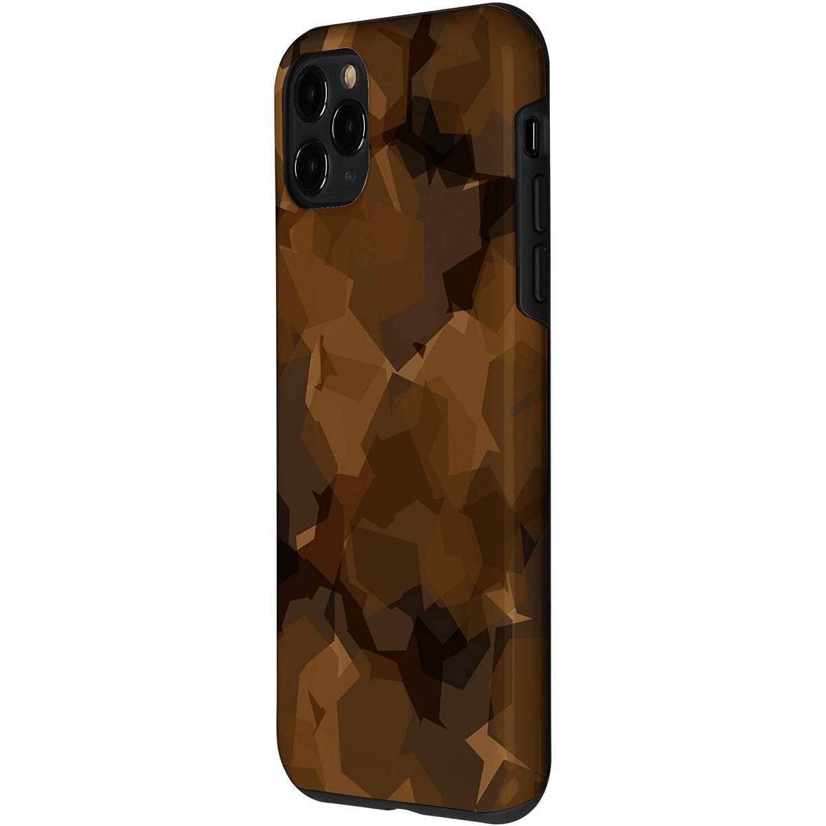 iPhone Protective phone Covers - Camouflagel Brown