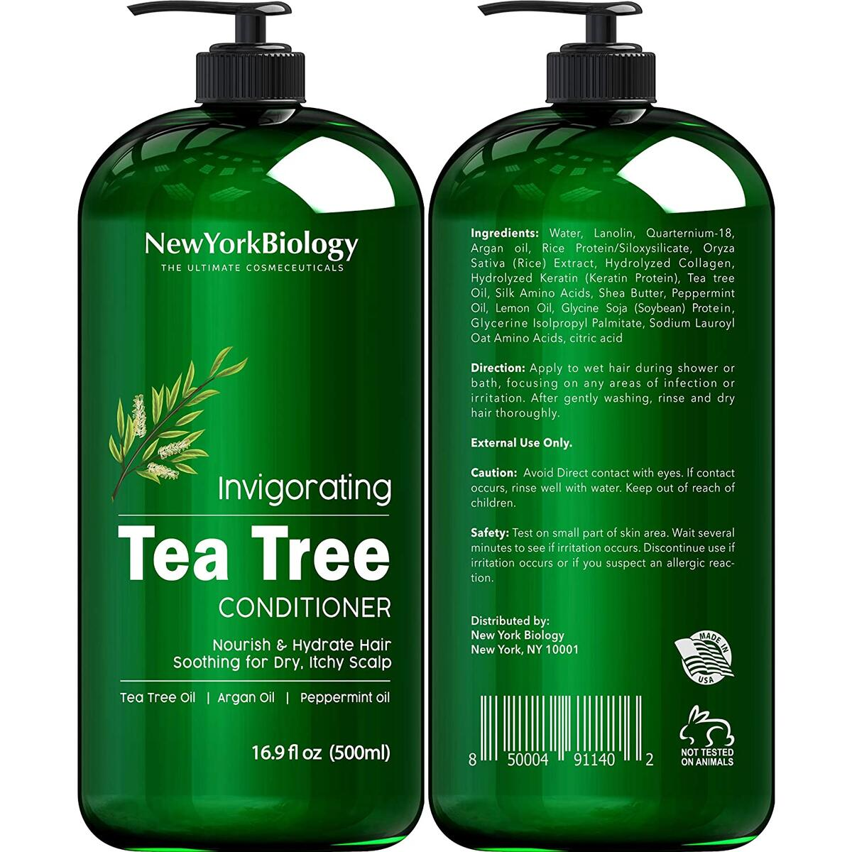 Tea Tree Shampoo Conditioner set