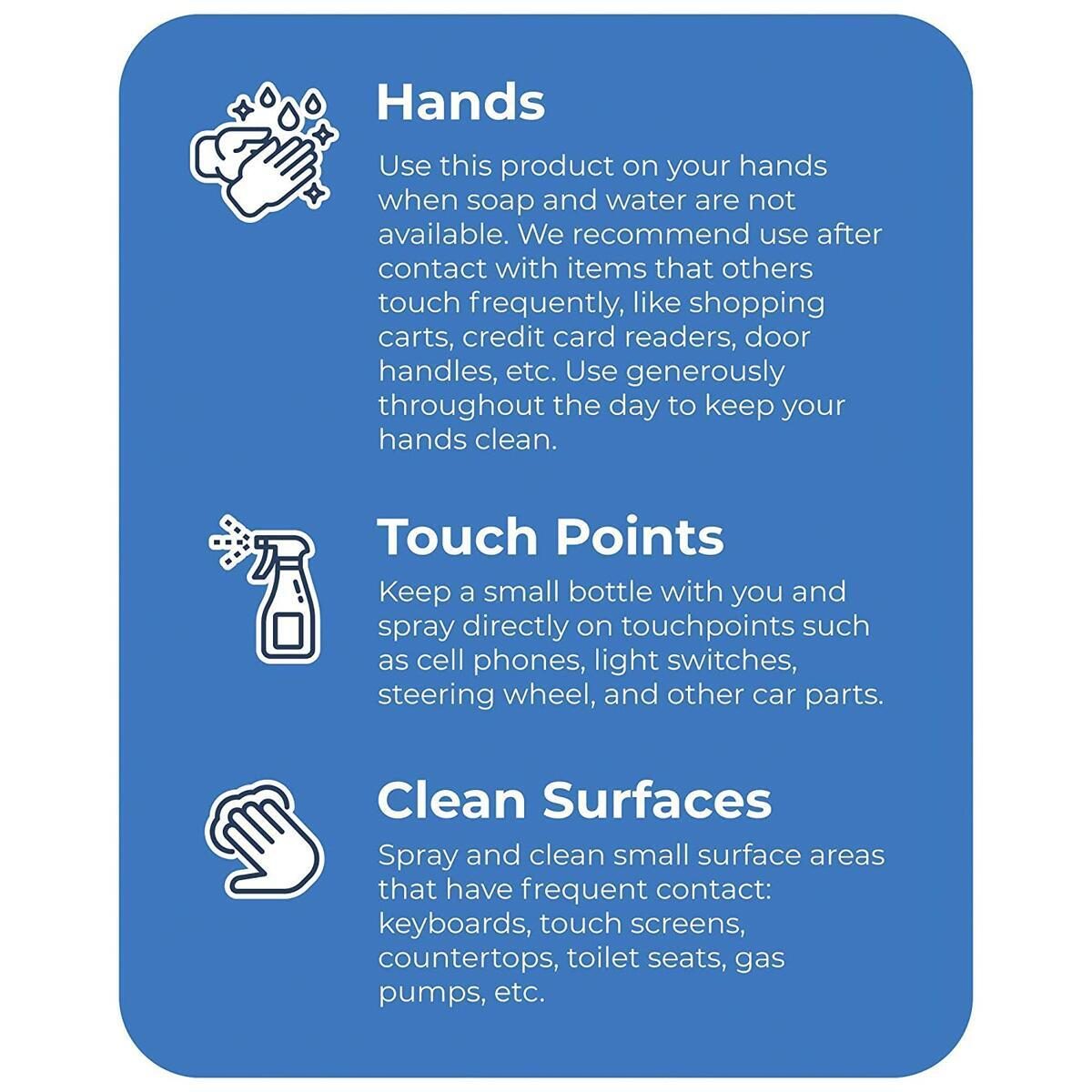 TotallyPure 2oz Hand Sanitizer 2 PACK Special