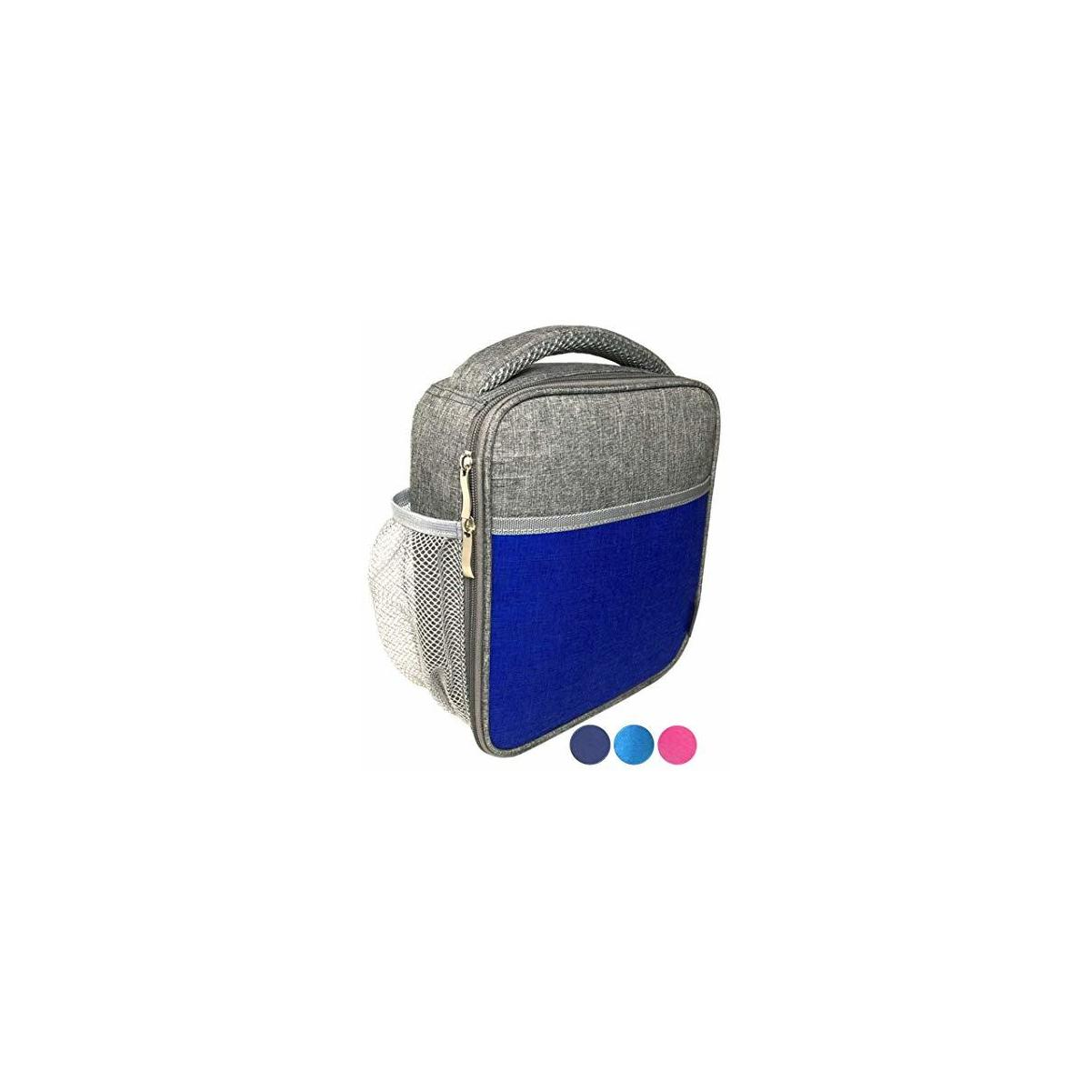 Colorblock Lunch Bag for Kids Teens Adults