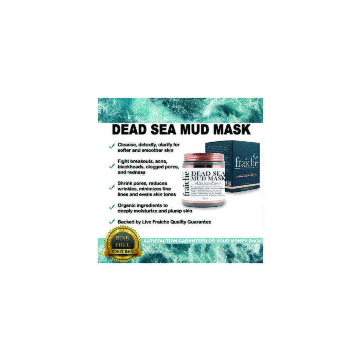 Live Fraiche Hydrating Dead Sea Mud Mask