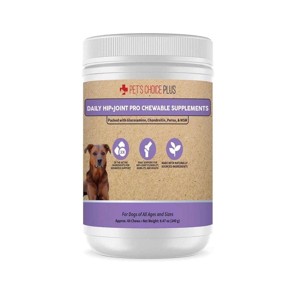 Daily Hip and Joint Pro Chewable Supplements