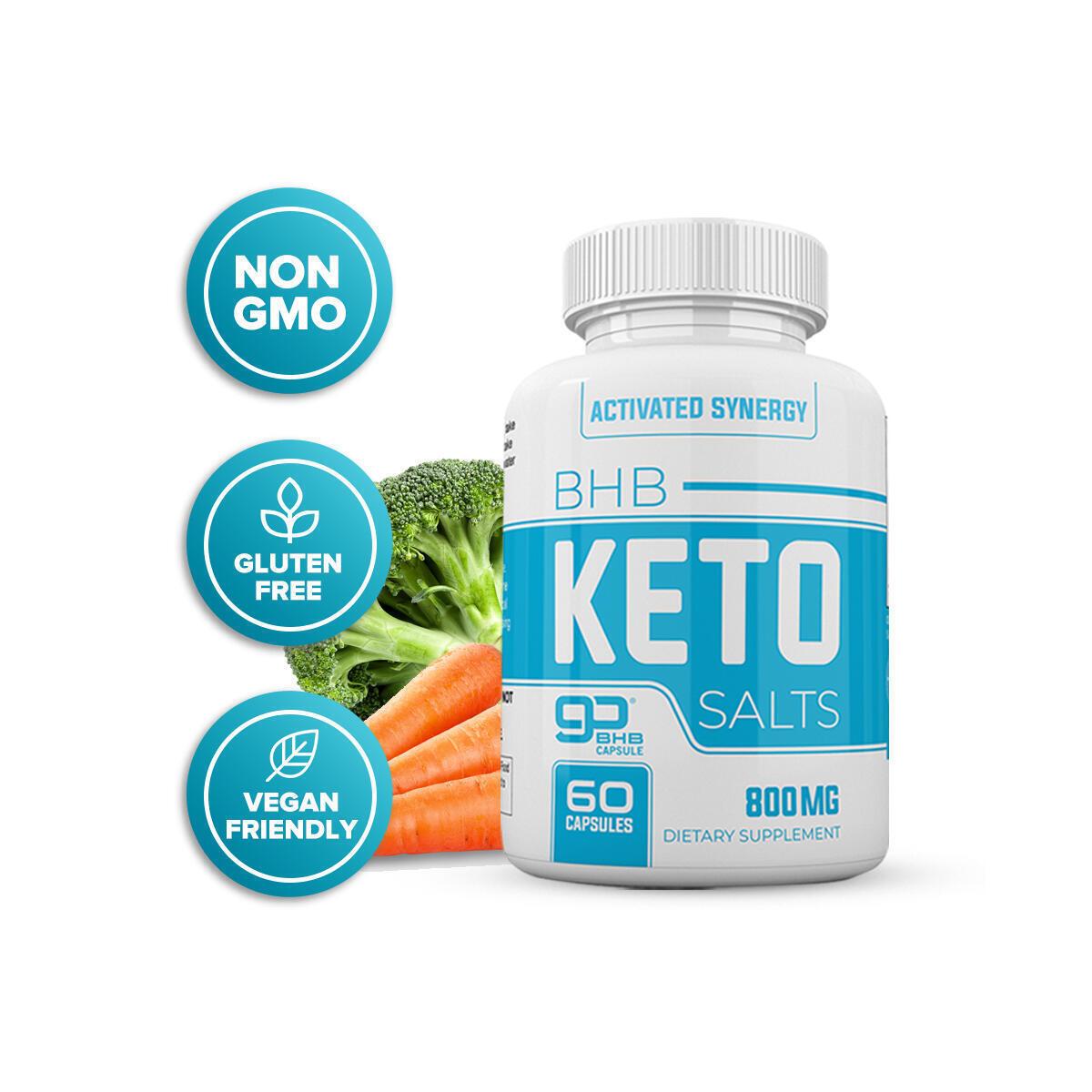 Synergy Keto Diet Weight Loss Fat Burner Supplement Pills Men Women 60 Capsule