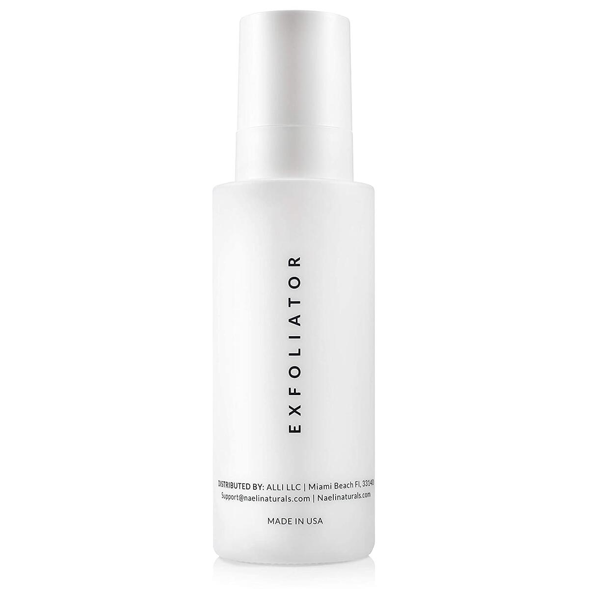 AHA/BHA - 10% Glycolic Acid Face Wash Exfoliating Cleanser, Exfoliator for Face with Antioxidants & Peptides - Deep Clean Toner & Peel For Face - Brightens & Smoothes Complexion, 4 oz.…