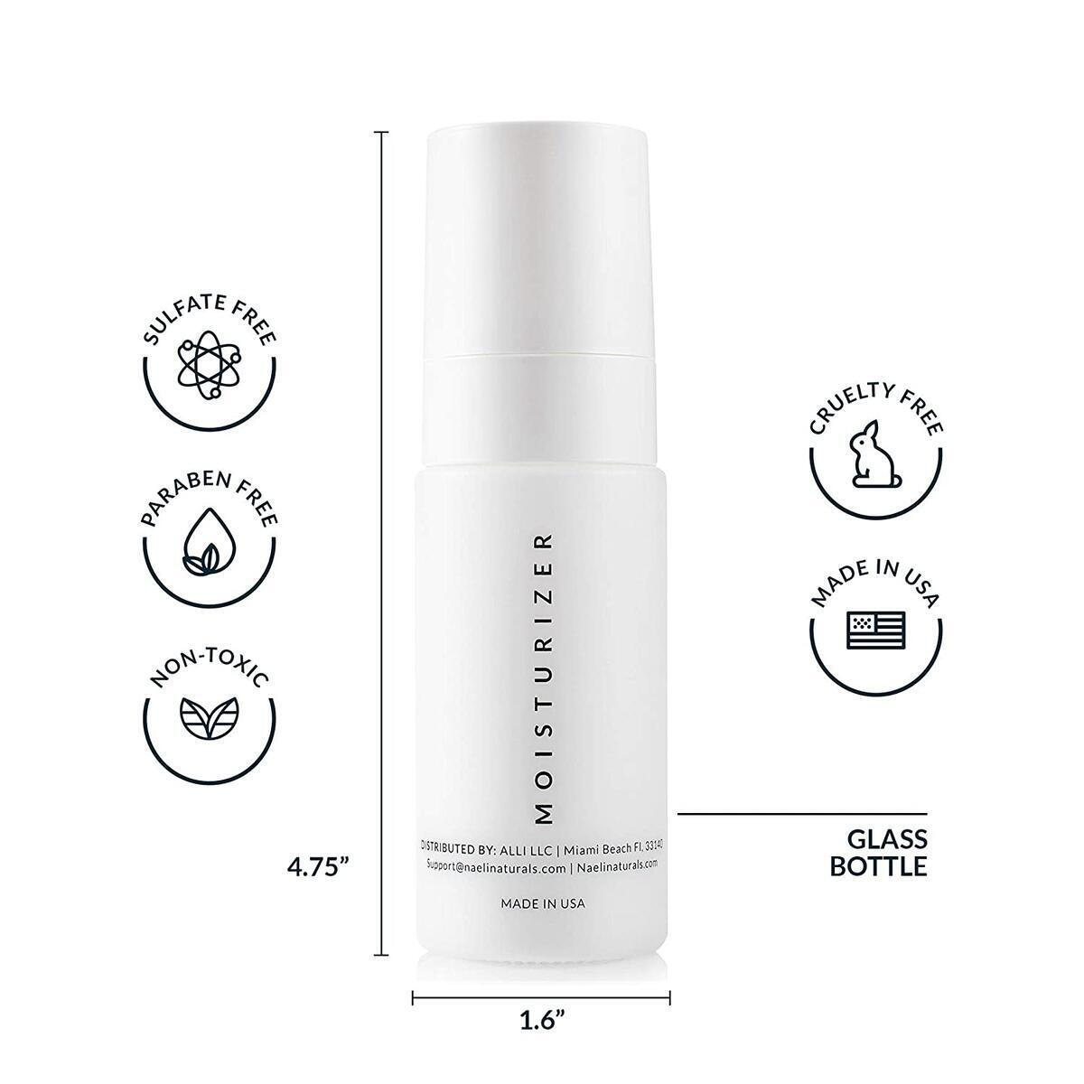 Face Moisturizer with SPF 30 - Anti Aging Collagen & Peptide Complex - Reduces Wrinkles & Plumps Skin - Lightweight Hydration with Oat Protein & Hyaluronic Acid, 1.4 oz…