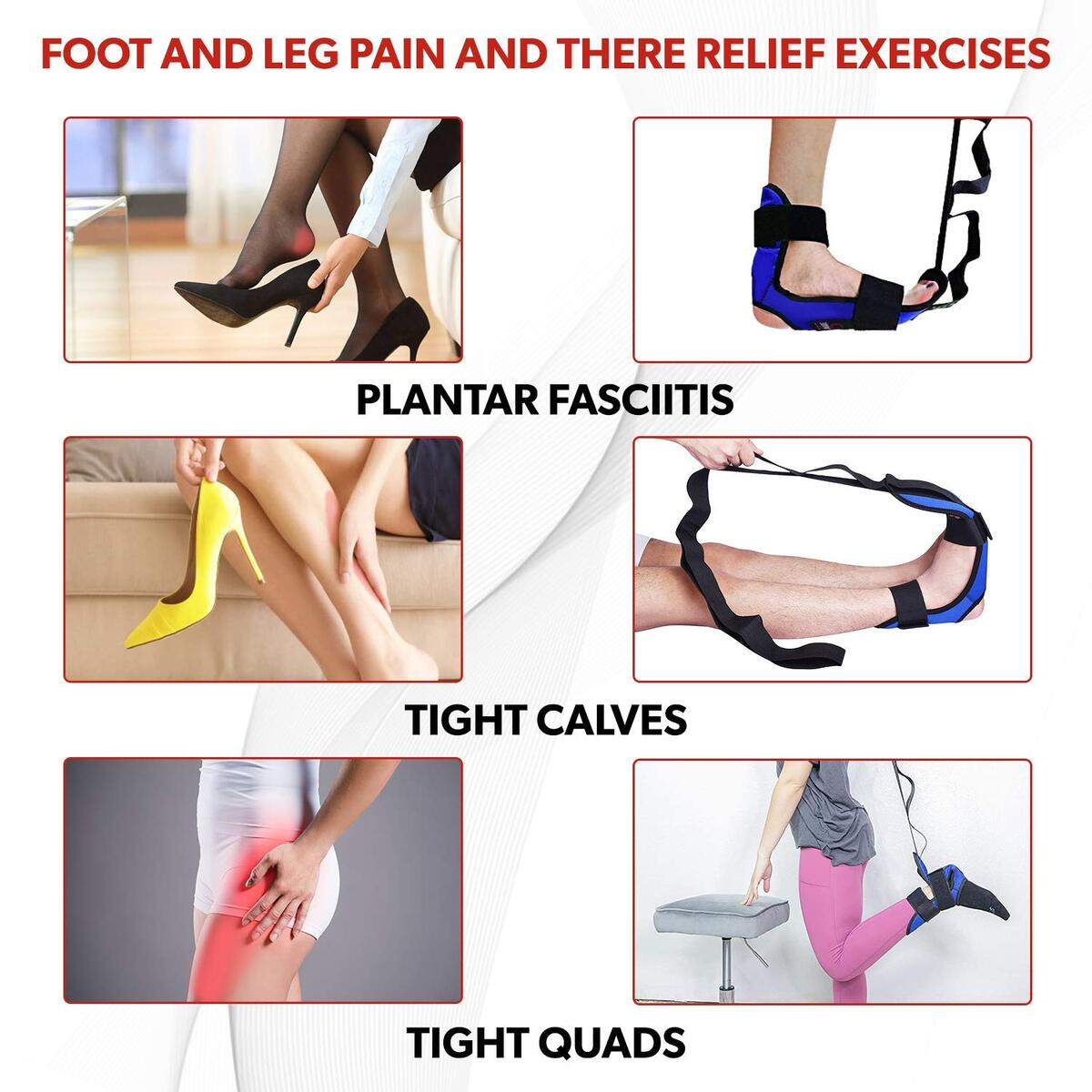 Foot and Leg Stretcher (Blue)