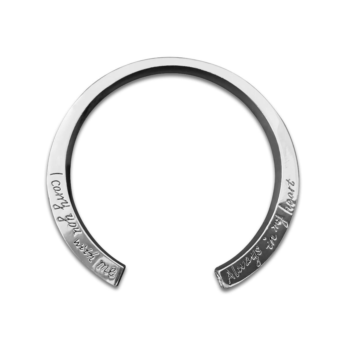 Prime Members Discount Silver Pair Couples Bracelets BFF Mother Daughter Father Son Lover and Family Inspirational Keepsake Gift