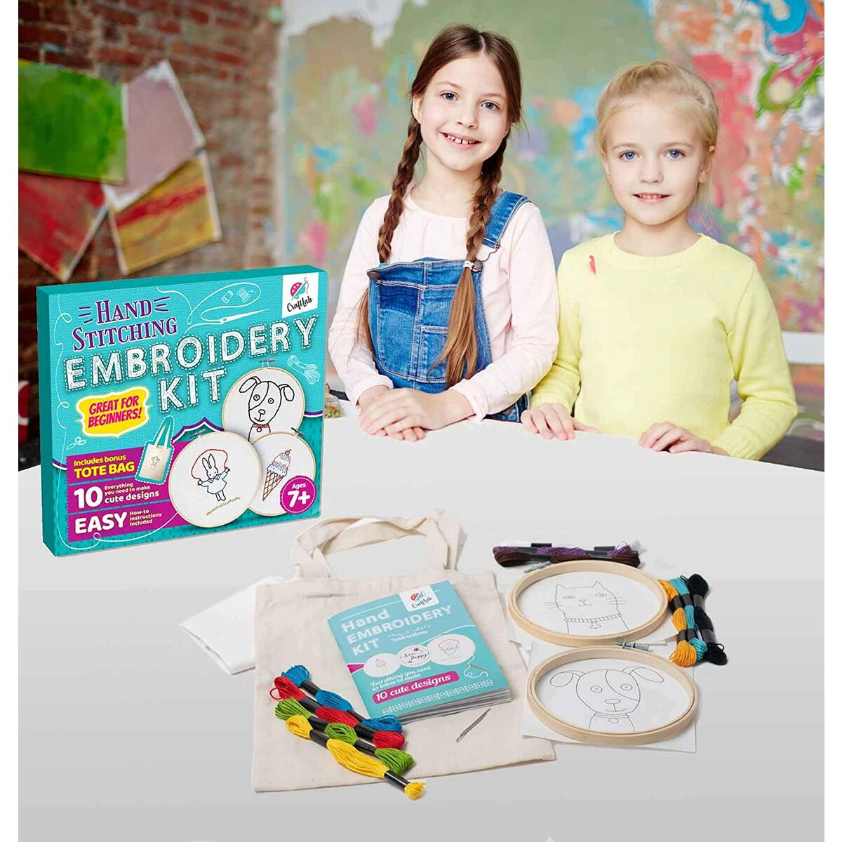 Embroidery Kit for Beginners