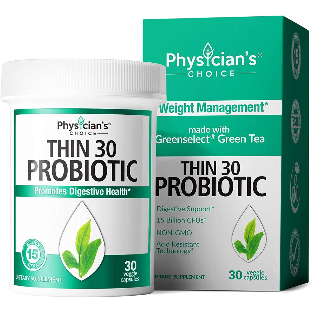 Thin 30 Probiotics from Physician's Choice