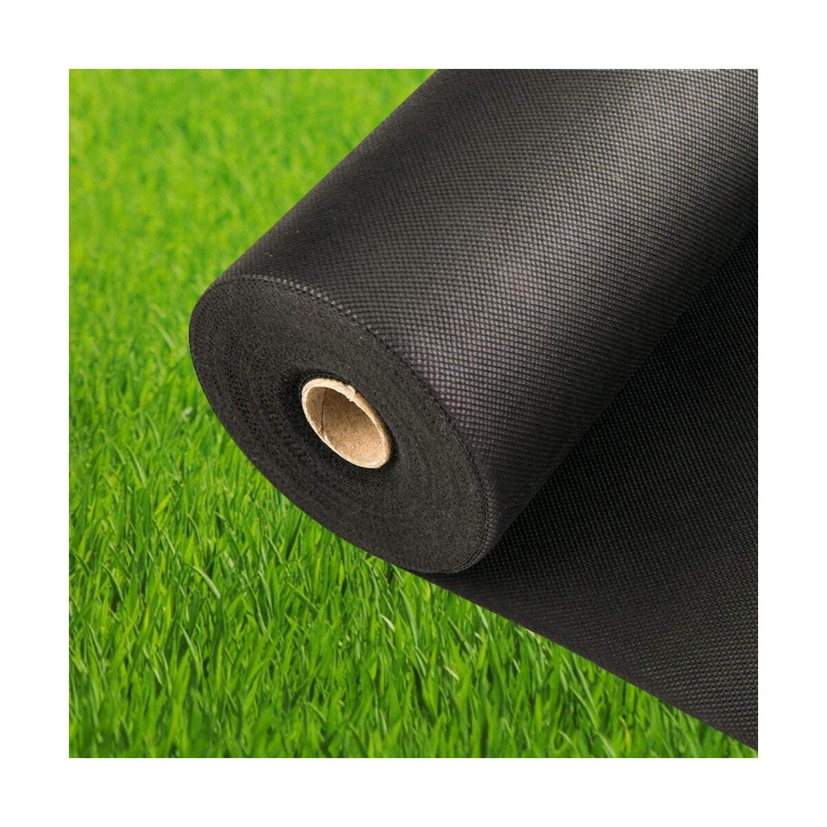 Pro Garden Landscape Fabric Heavy Duty - French Cloth Ground Cover One Roll 4x100 ft 3 oz/100gsm
