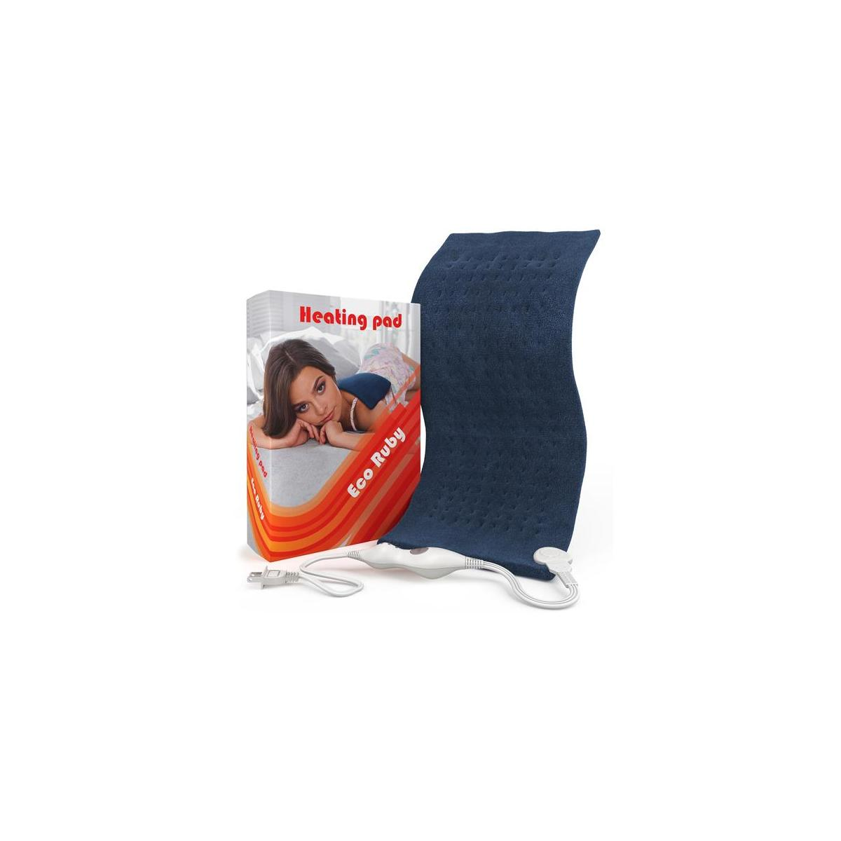 Eco Ruby Large Electric Heating Pad For Back Pain And ...